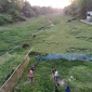 চলনবিল অঞ্চলের বড়াল নদী পানির অভাবে এখন মরাগাঙ