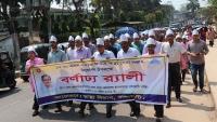 রাঙামাটিতে জাতীয় স্বাস্থ্যসেবা সপ্তাহ উপলক্ষে  র্যালি