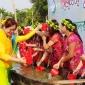 বান্দরবানে সাংগ্রাই পানি খেলার মধ্যমে বৈসাবি উদযাপন