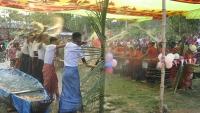 মহালছড়িতে সাংগ্রাই উপলক্ষে মৈত্রী পানি খেলা