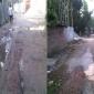 চাটমোহর পৌরসভা খানাখন্দে ভরা চলাচলে সীমাহীন দুর্ভোগ