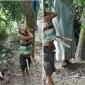 গাছের ডালে ঝুলে আছে গলাকাটা ছয় বছরের শিশু তুহিনের নিথর দেহ