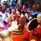 লামার মুখ বনাশ্রম বৌদ্ধ বিহারে দানোত্তম কঠিন চীবর দানোৎসব
