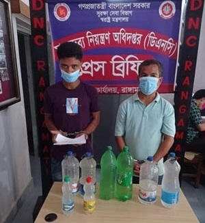 Two drug dealers arrested in Rangamati